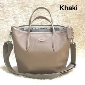 Harga tas import branded wanita cewek nylon murah batam lacoste tote | HARGALOKA.COM