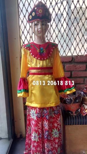 Harga baju adat kostum anak betawi tari | HARGALOKA.COM