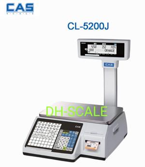 Harga timbangan label printing cas cl 5200j cocok buat pake di | HARGALOKA.COM