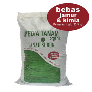 Harga tanah untuk tanaman media tanam  siap pakai gojek only | HARGALOKA.COM