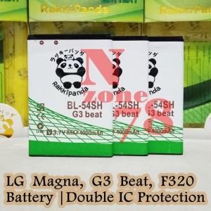 Harga baterai lg bl 54sh lg g3 beat d724 d335 l80 l9 rakkipanda double   HARGALOKA.COM