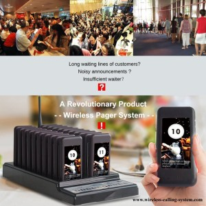 Harga customer paging system queue wireless calling   HARGALOKA.COM
