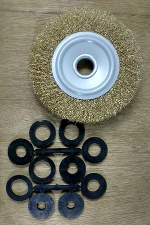 Harga 2pcs Sikat Kawat Wire Brush Mini Grinder Mangkok Roda Besi Baja Brus Katalog.or.id