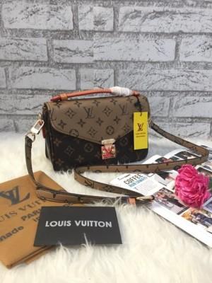 Harga tas wanita fashion branded import handbag lv metis 2 ruang best seller   | HARGALOKA.COM