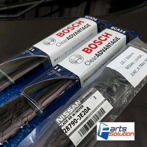 Harga paket wiper depan belakang livina grand livina x gear bosch oem | HARGALOKA.COM