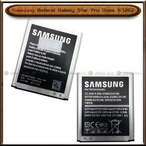 Harga baterai samsung galaxy star pro duos s7262 original batre batrai | HARGALOKA.COM