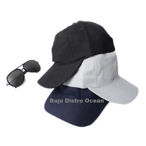 Harga topi baseball polos cap tumblr belakang pengait besi | HARGALOKA.COM