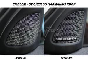 Harga emblem sticker harman kardon stiker decal logo 3d | HARGALOKA.COM