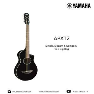 Harga yamaha gitar akustik elektrik apxt2 | HARGALOKA.COM