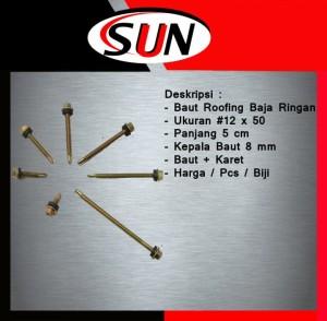 Harga baut baja ringan 12 x 50 5cm baut roofing 12 x 50 5cm | HARGALOKA.COM