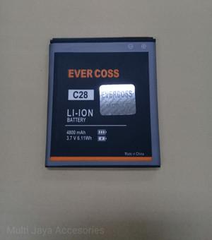 Harga baterai evercoss c28 double power ori battrey batrai | HARGALOKA.COM