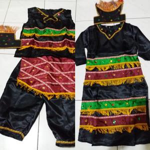 Harga pakaian baju adat anak baju irian papua saten anak lk pr uk s m   cewe | HARGALOKA.COM