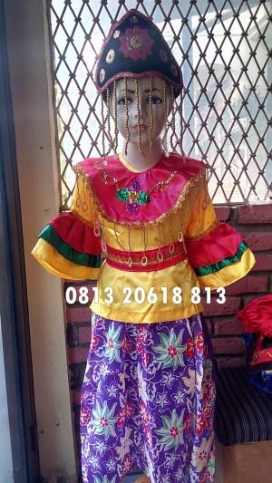 Harga baju tari kicir kicir sdkls4 6 kostum anak adat   HARGALOKA.COM