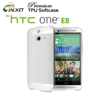 Harga softcase for htc one e8   s jacket premium ultra clear   HARGALOKA.COM
