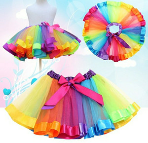 Harga rok tutu rainbow anak usia 4 7t rok korea rok tutu import rok | HARGALOKA.COM