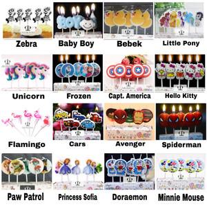 Info Lilin Ulang Tahun Ultah Hbd Lilin Karakter Little Pony Katalog.or.id