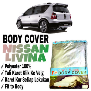 Harga sarung body cover nissan livina x gear pelindung penutup livina   HARGALOKA.COM
