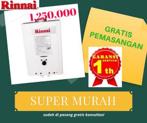 Harga water heater gas murah rinai reu | HARGALOKA.COM