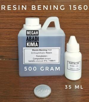 Katalog Resin Bening 500 Gram Katalis 35 Ml Katalog.or.id