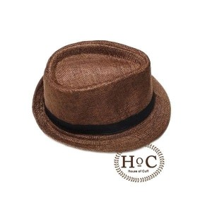 Harga houseofcuff topi fedora hat dark brown listed fedora | HARGALOKA.COM