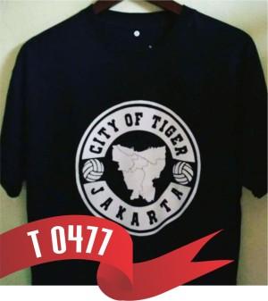 Harga t477 kaos tshirt baju combed 30s distro persija city of tiger | HARGALOKA.COM