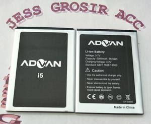 Harga baterai battery batre advan vandroid i5 i5 original double power   | HARGALOKA.COM