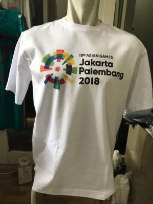 Harga kaos asian games indonesia 2018   putih | HARGALOKA.COM