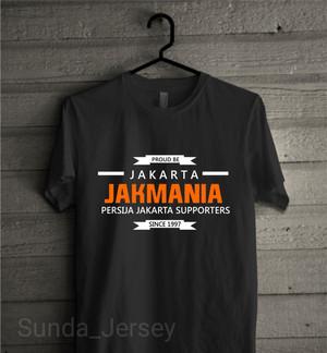 Harga t1643 kaos baju combed 30s distro proud to be jakarta | HARGALOKA.COM