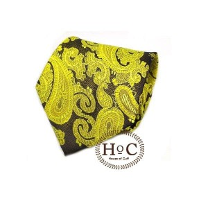 Harga dasi neck tie motif wedding best man yellow black batik tie   2 | HARGALOKA.COM