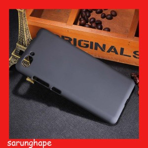 Harga black rubber hard case casing for asus zenfone 4 max pro | HARGALOKA.COM