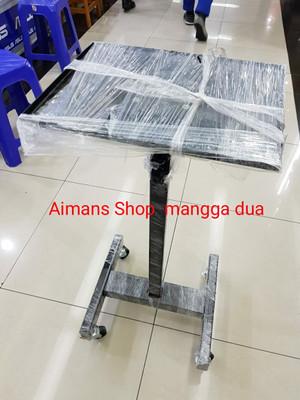 Harga stand proyektor tripod pakai roda meja penyangga proyektor pakai | HARGALOKA.COM
