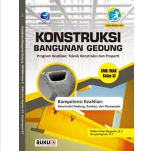 Harga buku konstruksi bangunan gedung program keahlian teknik   HARGALOKA.COM