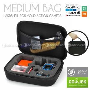 Harga action cam medium size bag case tas for gopro brica b pro amp xiaomi | HARGALOKA.COM