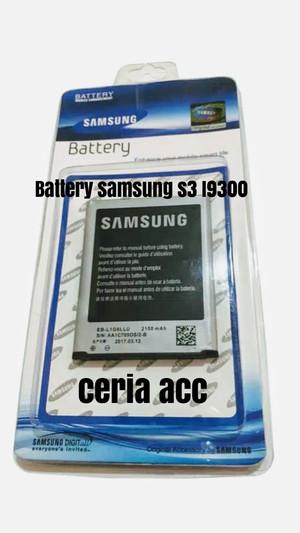 Harga battery baterai samsung s3 i9300 eb l1gllu ori 99 | HARGALOKA.COM