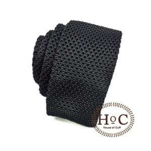 Harga houseofcuff dasi rajut knit black tie   | HARGALOKA.COM