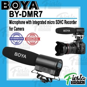 Harga boya by dmr7 microphone with integrated micro sdhc recorder for | HARGALOKA.COM