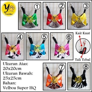 Info Hammock Sleeping Pouch 2 Tingkat Macan Hanging Pouch Sugar Glider Katalog.or.id