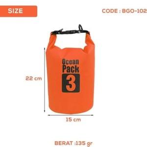 Harga tas anti air 3 l ocean pack waterproof kamera action hp iphone   HARGALOKA.COM
