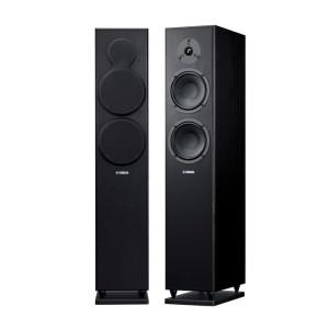 Harga yamaha ns f150 black floor standing speaker main speaker home | HARGALOKA.COM