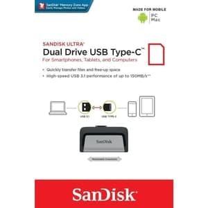 Harga flashdisc usb type c 128gb sandisk flashdisk 128 gb tipe gede | HARGALOKA.COM