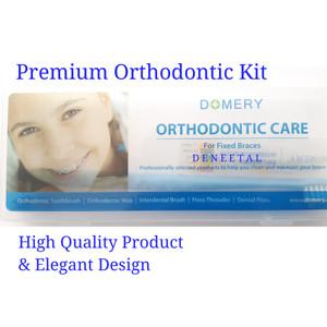 Harga premium ortho kit by domery japan paket sikat gigi orthodontic | HARGALOKA.COM