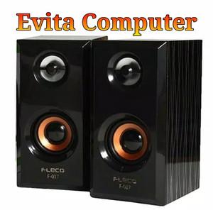 Harga speaker aktif stereo komputer fleco | HARGALOKA.COM