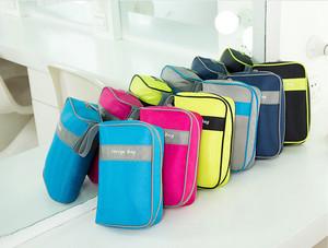 Harga pc02 korean travel oxford storage bag tas gadget pouch organizer   sky | HARGALOKA.COM