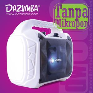 Harga speaker karaoke tanpa mic bluetooth n radio dazumba dw086 white   | HARGALOKA.COM