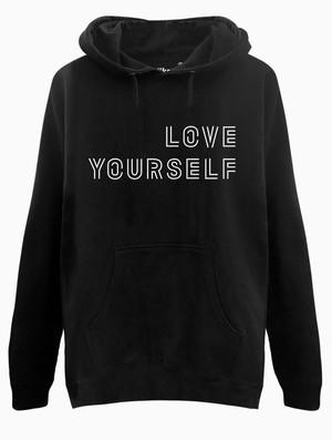 Harga jaket sweater hoodie bts love yourself | HARGALOKA.COM