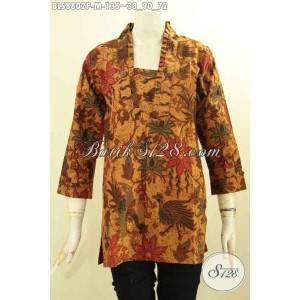Harga model blouse batik kutubaru wanita gemuk kekinian size m | HARGALOKA.COM