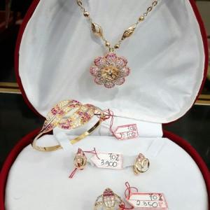 Harga set5kmp perhiasan emas asli set lengkap kalung gelang cincin | HARGALOKA.COM