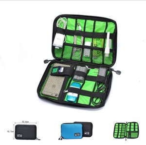 Harga g01 shockproof multi function digital storage bag gadget pouch   | HARGALOKA.COM