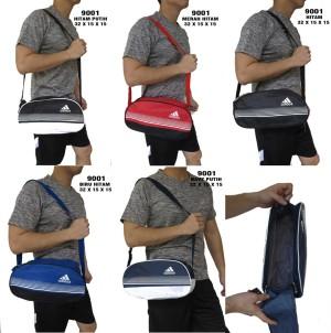 Harga tas sepatu olahraga gym cowok pria import adidas 9001   biru | HARGALOKA.COM