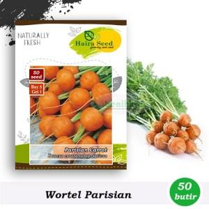 Harga benih bibit wortel mini bulat parisian haira seed | HARGALOKA.COM